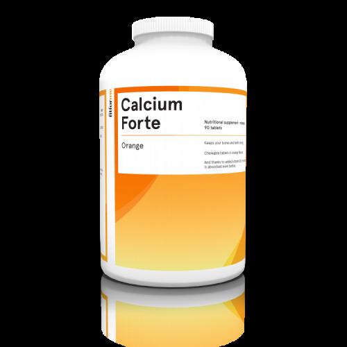 Calcium Forte - Pomaranča
