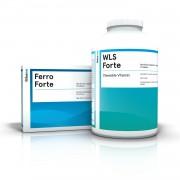 WLS Forte žvečljive tablete in tablete železa